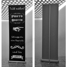 Photobooth RollUp Banner